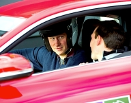 Britain's Prince Harry takes part in Goodwood track day