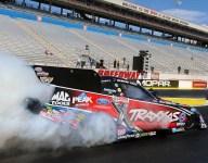 NHRA: Ashley Force Hood renews license with Vegas test run