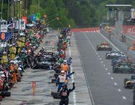 Rear view: IndyCar Honda Grand Prix of Alabama
