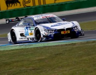 Joey Hand leads DTM testing for BMW