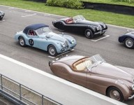 Jay Leno among stars in Jaguar historic cars for Mille Miglia