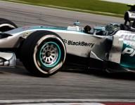 F1: Rosberg baffled by Sepang tire struggle