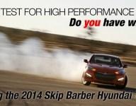 Skip Barber Racing School and Hyundai Motor America announce Hyundai Time Attack Challenge