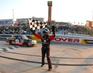 Four races, four bows for Kyle Busch in Trucks