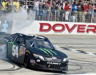 Nationwide: Busch two-thirds of the way to a Dover triple