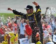 Nationwide: Logano's misery makes Menard's day at MIS