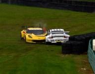 IMSA: Auberlen, BMW top third practice as Corvette, Porsche RSR crash