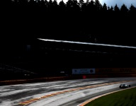 F1: Rosberg takes pole at wet Spa