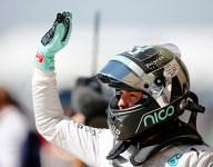 F1: Rosberg beats Hamilton to USGP pole