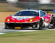 IMSA: AIM Autosport parts with Bell and Sweedler