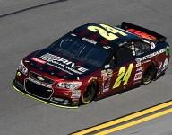 NASCAR: Jeff Gordon tops crazy Daytona qualifying