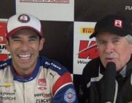 RACER: Robin Miller with Barber polesitter Helio Castroneves