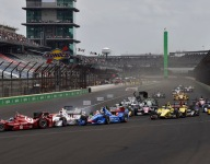IndyCar: Castroneves penalized for Indy GP first-turn incident