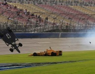 IndyCar: Briscoe thankful after big Fontana crash