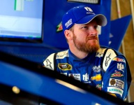 """Emotional Dale Earnhardt Jr. """"completely floored"""" by gift from fan"""