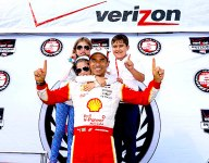 IndyCar: Castroneves takes pole, Montoya wobbles, Kimball crashes