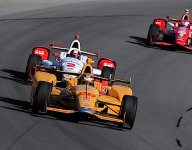 IndyCar: Hunter-Reay wins wild Pocono race, Wilson hurt by flying debris
