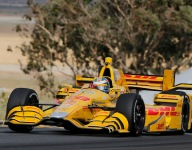IndyCar: Hunter-Reay tops final practice at Sonoma