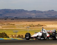 IndyCar: Power tops warm-up at Sonoma