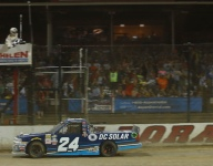 TRUCKS: Larson battles back for Eldora win