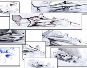 INDYCAR: Initial 2018 bodywork concepts unveiled