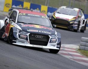 Heikkenen leads World Rallycross season opener in Barcelona