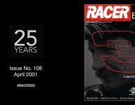 RACER@25: Issue No. 108, April 2001 - Losing Dale Earnhardt