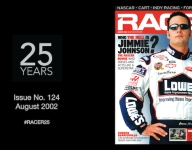RACER@25: Issue No. 124, August 2002 - Who is Jimmie Johnson?