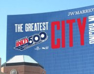 JW Marriott to promote Indy 500 again with facade graphic