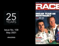 RACER@25: Issue No. 109, May 2001 - A new era begins
