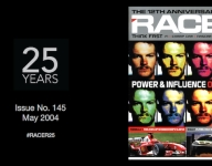 RACER@25: Issue No. 145, May 2004 - Power & Influence