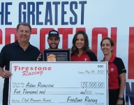 Shank crew chief Rovazzini wins Clint Brawner Award