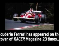RACER@25 Video: Scuderia Ferrari's 23 RACER covers