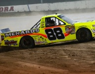 Crafton snaps Trucks winless streak on Eldora dirt