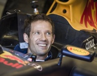 Video: WRC ace Ogier samples Red Bull F1 car
