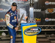 Kyle Busch rules Bristol Trucks in overtime