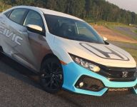 New Honda Civic Hatchback Sport named PWC TC series pace car