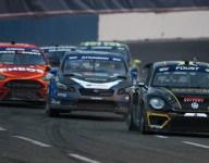 Foust wins Global Rallycross Race 1 at Seattle