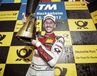 Rookie Rast claims DTM crown