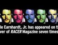 Video: Dale Earnhardt Jr.'s seven RACER covers