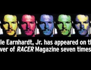 Video: Dale Earnhardt Jr.'s seven RACER covers