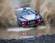 Rain heightens drama at Rally Australia