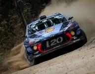 Rally Australia leader Mikkelsen retires, Neuville takes control
