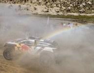 Sainz takes first Dakar stage win