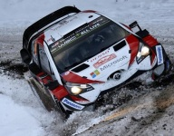 Tanak gains ground on Ogier in Monte ice