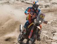 Walkner takes Dakar lead amid shakeup in bike category