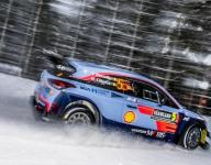 Neuville leads Hyundai 1-2-3 at Rally Sweden