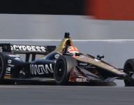 Sonoma IndyCar testing gallery