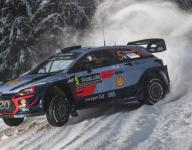 Neuville tops Friday morning Rally Sweden leaderboard