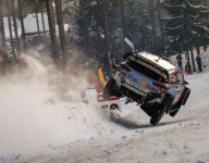 Neuville co-driver's anxious Rally Sweden moment at Colin's Crest